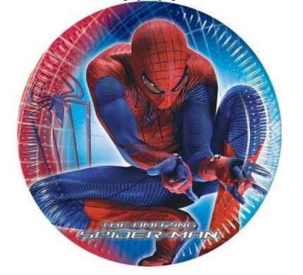 10 piatti spiderman