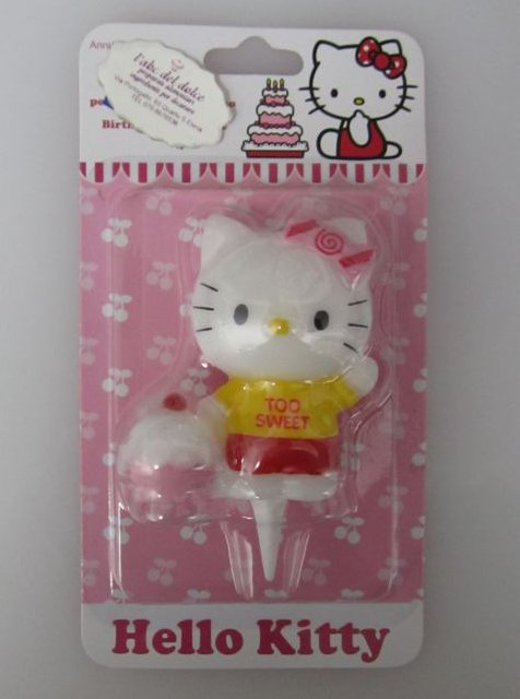 Candelina hello kitty