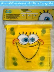Festone Happy birthday spongebob