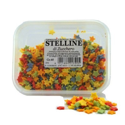 STELLINE COLORATE GR. 40