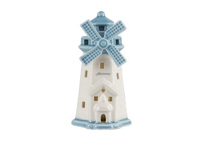 FARO MULINO GRANDE PORCELLANA C/LED BIANCO/BLUE