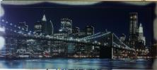 quadro arredamento Brooklyn in rilievo con swarovski